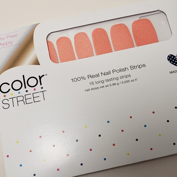 Color Street Other - COLOR STREET You're Corally Invited Nail Strips